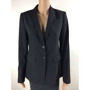 Ann Taylor Womens Office Business Blazer Sz 4 P704